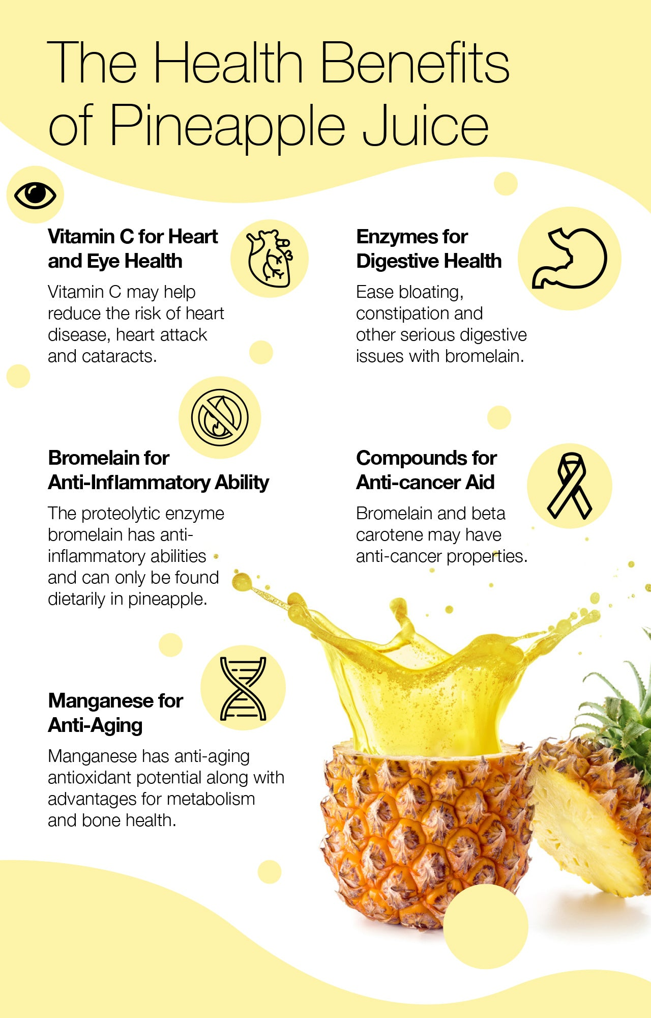 The Health Benefits of Pineapple Juice