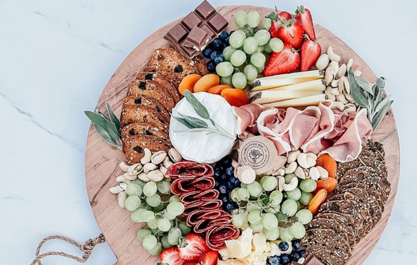 charcuterie board for mothers day gift guide