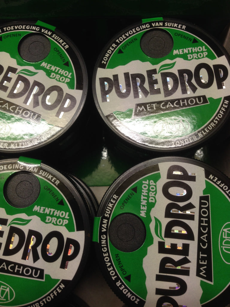 Pure licorice Cachous - Menthol - Pure Drop - 13g
