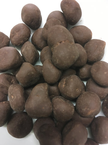Milk Chocolate Ginger Nougat Balls