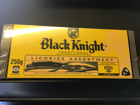 Black Knight Traditional Licorice Assortment