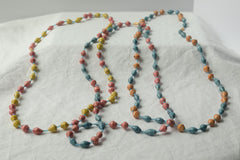 Long Pastel Necklace
