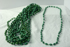 Long necklace - jade