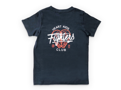 Heart Kids Fighters Club 2017 Navy T-Shirt - Childrens