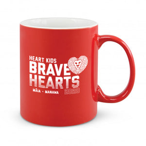 Heart Kids Red Brave Hearts Coffee Mug 2020