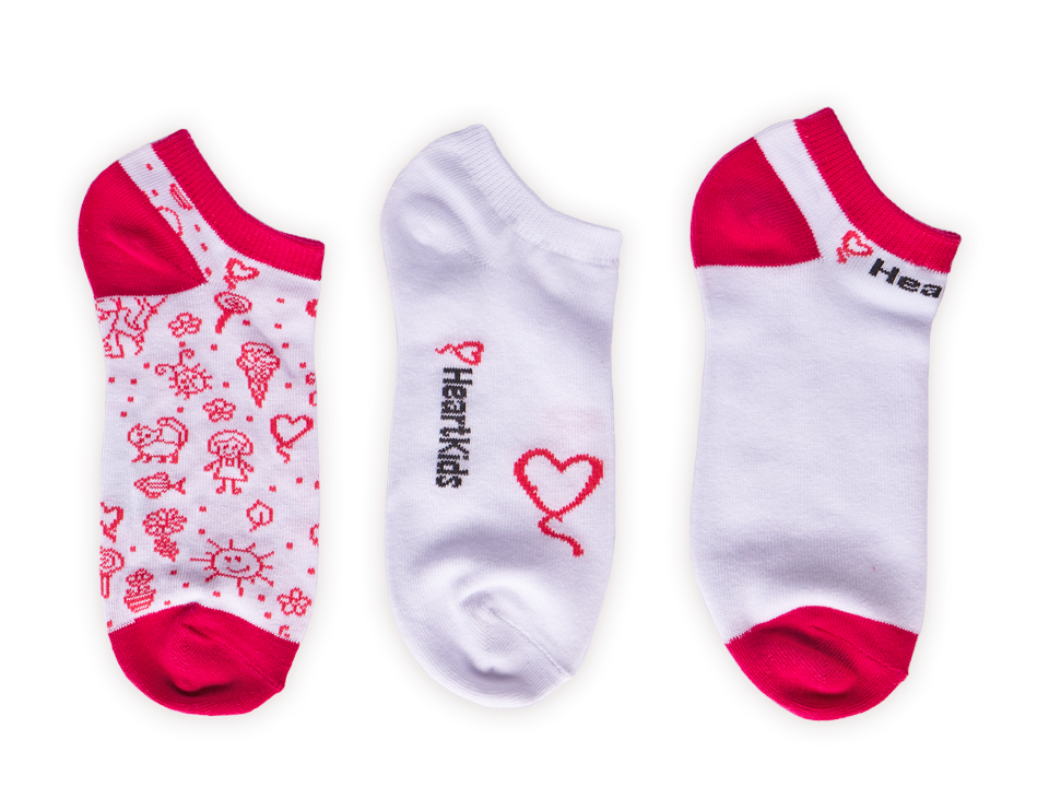 Heart Kids Socks