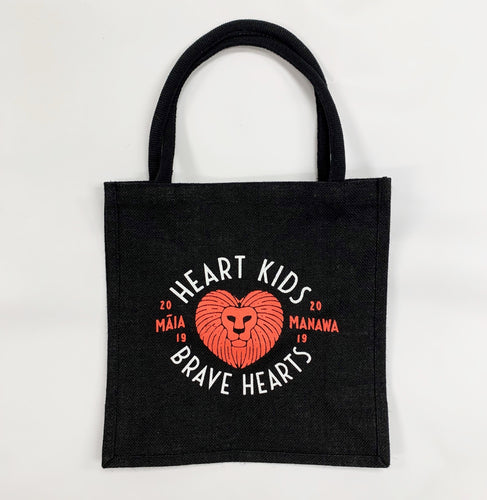 Heart Kids Brave Hearts Tote Bag