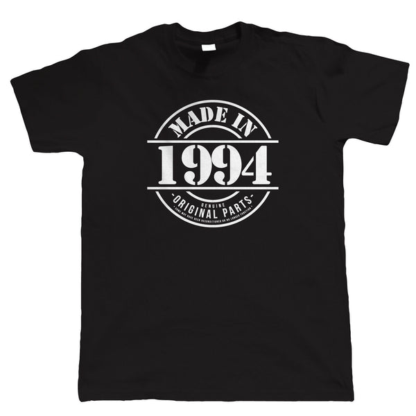 Made in 1994 Mens Funny T Shirt, Gift for Him Dad Grandad Birthday