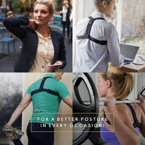 Benefits Of Using A Back Straightener Posture Brace