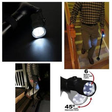 Load image into Gallery viewer, Smart Folding Walking Cane With Led Light & Alarm