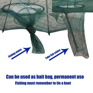 Usage of fish trap