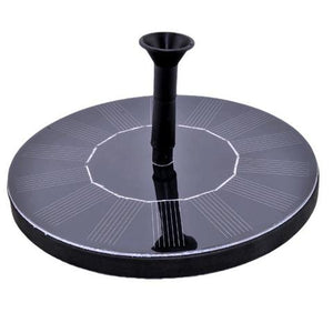 Solar Powered Water Fountain - The Shopolics