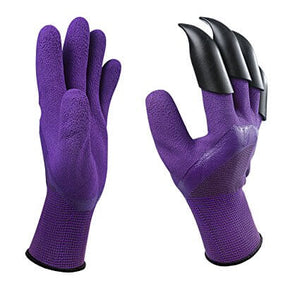 Garden Claw Gloves - Purple Color