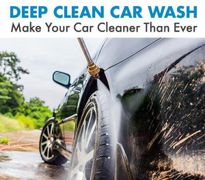 Clean your car with hydrojet