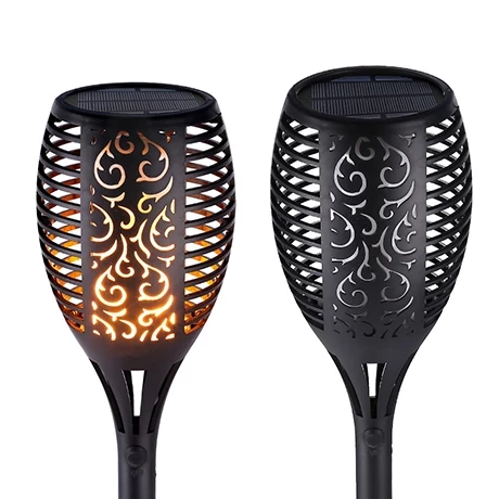 Dancing Flame Solar Torch Lights