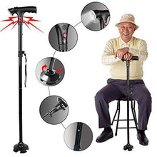 Load image into Gallery viewer, Smart Folding Walking Cane