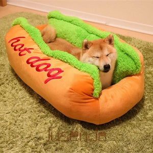 Hot Dog Bed For Pet