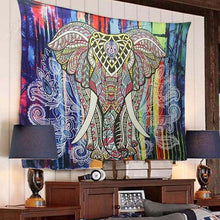 Load image into Gallery viewer, Wall Hanging Elephant Tapestry