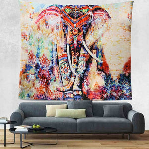 Wall Hanging Elephant Tapestry