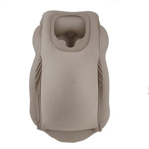Grey Color Inflatable Travel Pillow