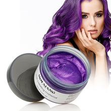 Load image into Gallery viewer, Purple Color Hair Wax Paint