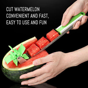 Learn how to use watermelon slicer