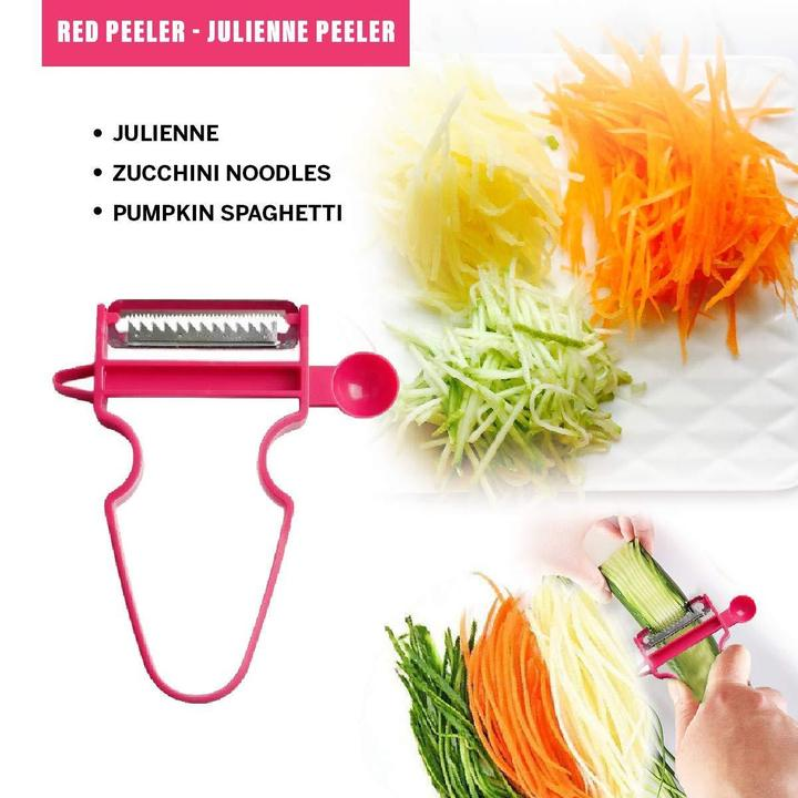 Red color magic peeler