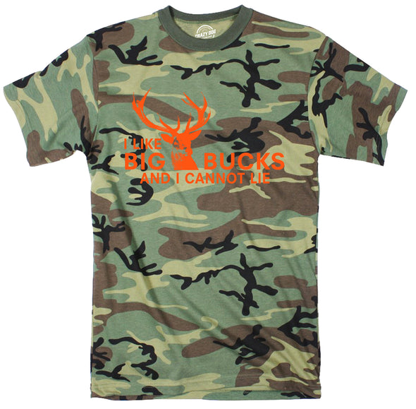 I Like Big Bucks Men's Tshirt