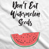 Maternity Don't Eat Watermelon Seeds T shirt Funny Pregnancy Reveal Pregnant Tee