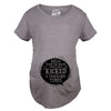 Maternity Hello From the Inside Cute Pregnancy Announcement Parody T Shirt