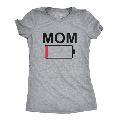 Mom Battery Low Women's Tshirt