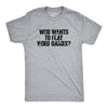 Who Wants to Play Video Games Men's Tshirt