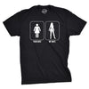 Your Wife My Wife Superhero Men's Tshirt
