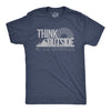 Think Outside No Box Necessary Men's Tshirt