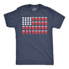 Beer Pong Flag Men's Tshirt
