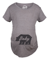 Maternity Baby Bear Tshirt Cute Adorable Pregnancy Tee For Expecting Mother