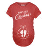 Maternity Bumps First Christmas Ornament New Baby T Shirt Pregnancy Tee For Mom