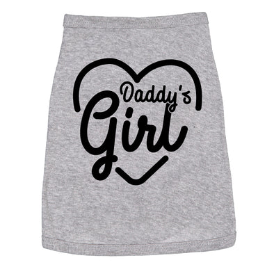 Dog Shirt Daddys Girl Cute Clothes For Family Pet