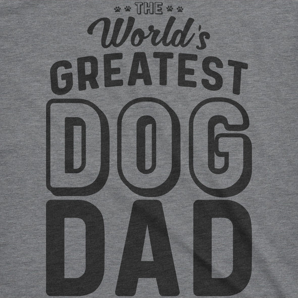 World's Greatest Dog Dad Men's Tshirt