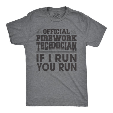 Firework Technician Men's Tshirt