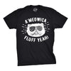 Mens A'Meowica Fluff Yeah Tshirt Funny 4th Of July Cat Tee For Guys