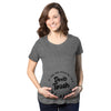 Maternity If You Are Reading This Don't Touch The Belly Pregnancy Tshirt