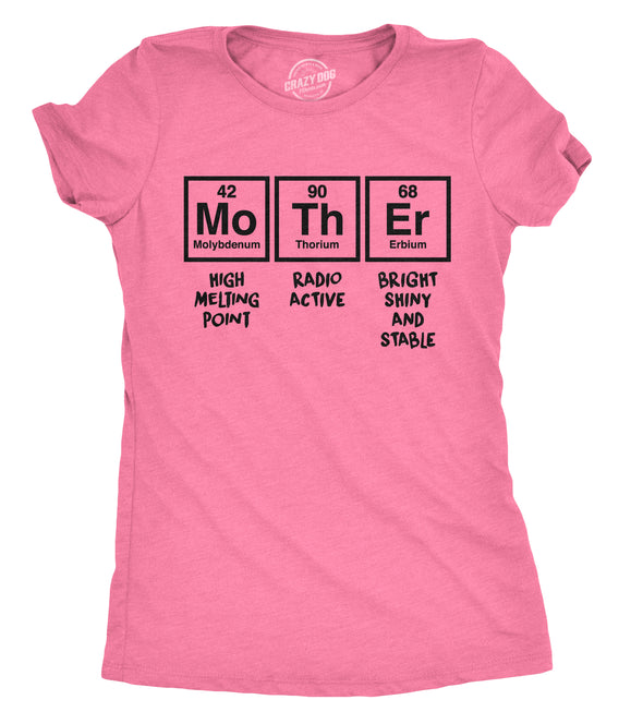 Mother Periodic Table Women's Tshirt