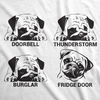 Pug Faces Men's Tshirt