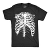 Splattered Rib Cage Men's Tshirt