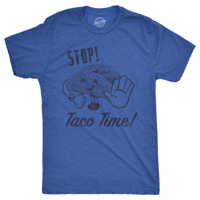 Stop Taco Time Men's Tshirt