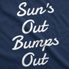 Maternity Suns Out Bumps Out Tshirt Funny Summer Pregnancy Tee