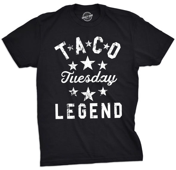 Taco Tuesday Legend Men's Tshirt