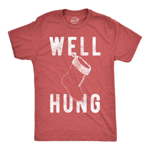 Well Hung Men's Tshirt