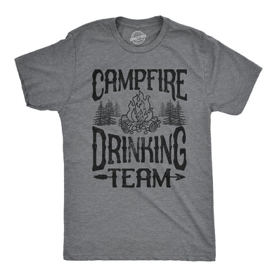Campfire Drinking Team Men's Tshirt